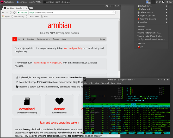 Armbian Buster and Bionic minimal with 4 14 y - ODROID